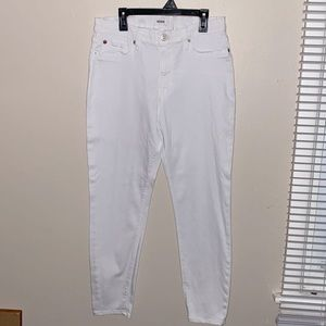 Hudson Super Skinny White Jeans-In Women